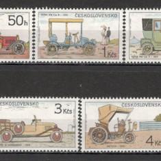 Cehoslovacia.1988 Automobile de epoca PP.568 - Timbre straine, Nestampilat