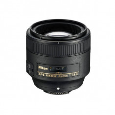 Obiectiv Nikon AF-S Nikkor 85mm f/1.8G - Obiectiv DSLR