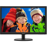Monitor LED Philips 223V5LHSB2/00 21.5 inch 5ms Black, 21 inch, 1920 x 1080
