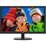 Monitor LED Philips 223V5LHSB2/00 21.5 inch 5ms Black, 21 inch, 1920 x 1080