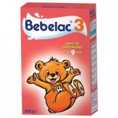 Lapte praf BEBELAC 3 250 g de la 9 luni - Lapte praf bebelusi