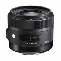 Obiectiv Sigma 30mm f/1.4 EX-DC HSM Art pentru Sony - Obiectiv DSLR