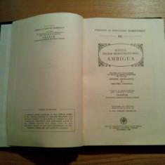SFINTUL MAXIM MARTURISITORUL * AMBIGUA - Institutul Biblic, PSB nr. 80, 1983 - Vietile sfintilor