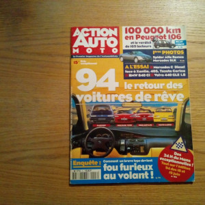 ACTION AUTO MOTO - Juin 1994 - No.3 - 130 p.