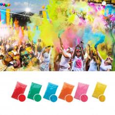 Set 6 culori pudra Neon UV Holi 100gr - Face painting copii