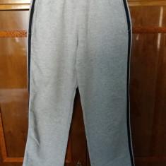 Pantaloni de trening gri cu dunga neagra lateral, Marime: 38, Baieti