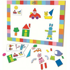 Tabla Magnetica Mozaic - Jocuri Logica si inteligenta Vilac