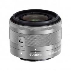 Obiectiv Canon EF-M 15-45mm f/3.5-6.3 IS STM Silver - Obiectiv DSLR