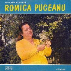 Romica Puceanu - Nici Nu Ninge, Nici Nu Ploua (Vinyl) - Muzica Lautareasca electrecord, VINIL