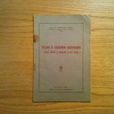 ORIGINEA SI RASPANDIREA SECTARISMULUI - Corneliu Sarbu - Sibiu, 1945, 44 p. - Carti bisericesti