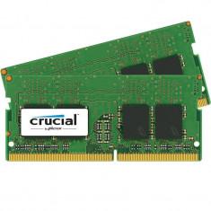 Memorie laptop Crucial 16GB DDR4 2400 MHz CL17 Dual Channel Kit - Memorie RAM laptop
