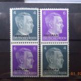 1941 Germania ( Reich ) Mi S 1** + S 3** Cu guma si fara sarniera (Ostland), Nestampilat