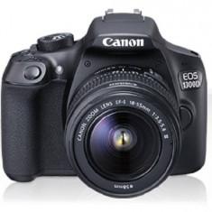 Aparat foto DSLR Canon EOS 1300D BK 18 MP Obiectiv EF-S 18-55mm IS Negru