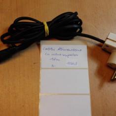 Cablu alimentare cu intrerupator 1,8 m (10247)