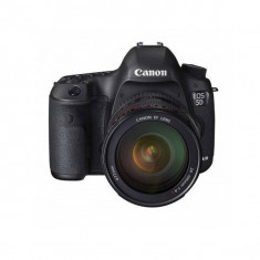 Aparat foto DSLR Canon EOS 5D Mark III 22.3 Mpx Full frame Kit EF 24-105mm F4 L IS, Kit (cu obiectiv), Peste 16 Mpx, Full HD