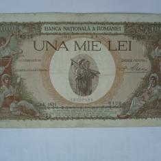 1000 lei 1939 Supratipar - Bancnota romaneasca