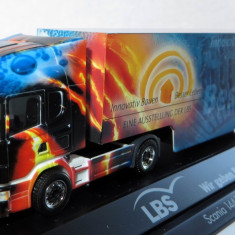 Herpa SCANIA 144L LBS aerograf Private Collection 1:87 - Macheta auto Alta, 1:43