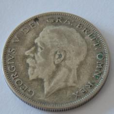 Moneda argint Anglia Half Crown 1929, Europa