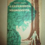 O experienta neobisnuita- George Anania - Roman