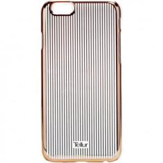 Husa de protectie Tellur Cover Hardcase Vertical Stripes pentru iPhone 6/6s Rose Gold - Husa Tableta