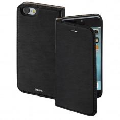 Husa Flip Cover Hama Slim Booklet Black pentru Apple iPhone 7 - Husa Telefon