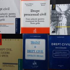 Lot de 13 carti Drept Civil / C66P - Carte Drept civil