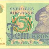 SUEDIA 5 kronor 1978 UNC P-51d