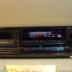 Deck Technics RS-BX828 cap de serie, dublu cabestan, poze reale, raritate - Deck audio