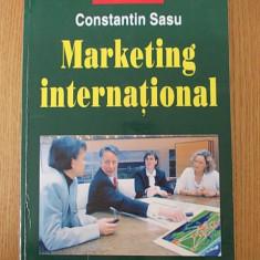 MARKETING INTERNATIONAL- CONSTANTIN SASU - Curs marketing
