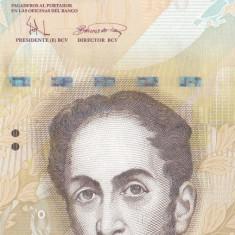 Bancnota Venezuela 100 Bolivares 2008 - P93 UNC