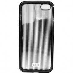 Husa de protectie Tellur Cover Silicon pentru iPhone 5/5s/SE Vertical Stripes Black - Husa Tableta