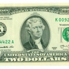 STATELE UNITE 2 dolari 2013 UNC comemorativa K11 pt Dallas, Texas - bancnota america