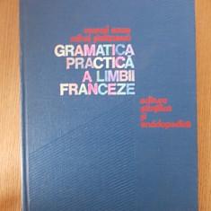 GRAMATICA PRACTICA A LIMBII FRANCEZE- MARCEL SARAS- cartonata - Curs Limba Franceza Altele