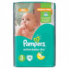Scutece PAMPERS Active Baby 3 Small Pack 15 buc