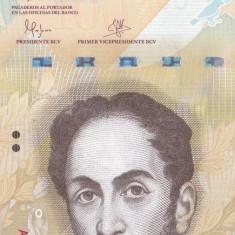 Bancnota Venezuela 100 Bolivares 2015 - P93 UNC