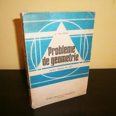 Probleme de geometrie-A.Hollinger, 1982! - Carte Matematica