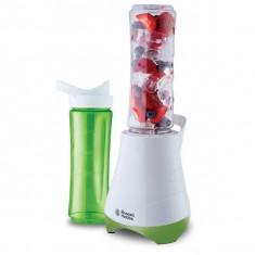 Mini blender Russel Hobbs Mix & Go 21350-56 300W Alb/Verde, Sport