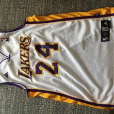 Tricou Baschet Los Angeles Lakers Kobe Bryant 24 Adidas marime M - Echipament baschet