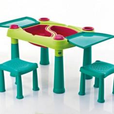 Masuta de joaca CREATIVE PLAY cu doua scaune CURVER - Spatiu de joaca