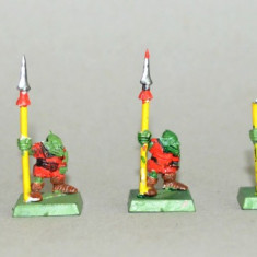 Lot figurine miniaturi WARHAMMER ORCS AND GOBLINS ARMY (4) - Miniatura Figurina