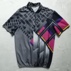 Tricou ciclism vintage; marime L, vezi dimensiuni exacte; impecabil, ca nou - Echipament Ciclism