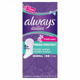 Absorbante zilnice ALWAYS Pantyliners Deo Fresh 30 bucati
