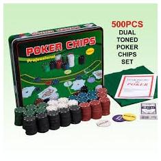 Poker Ghips 500 bucati - Poker chips