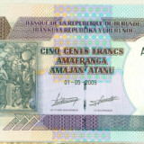 BURUNDI 500 francs 2009 UNC P-45a