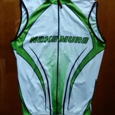 Tricou ciclism Nakamura Full Zip; marime XL, vezi dimensiuni; impecabil, ca nou - Echipament Ciclism