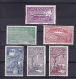 ROMANIA 1939 , LP 132 ,  CEFERIADA  SERIE MNH, Nestampilat