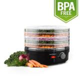 ONEconcept Bonsai Masina de uscat fructe cu 5 etaje, 250 Watt negru - Deshidrator