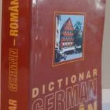 DICTIONAR GERMAN - ROMAN de E. SAVIN, I. LAZARESCU, K. TANTU - Carte in alte limbi straine