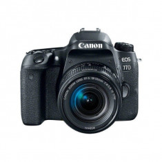 Aparat foto DSLR Canon EOS 77D 24.2 Mpx WiFi Kit EF-S 18-55mm f/4-5.6 IS STM