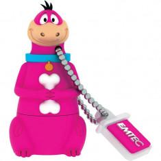 Memorie USB Emtec Dino HB101 8GB USB 2.0 Pink - Stick USB